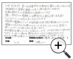京都市 中京区 70代 女性 友達の紹介で通院