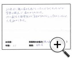 京都市 中京区 25代 男性 膝の痛みが改善